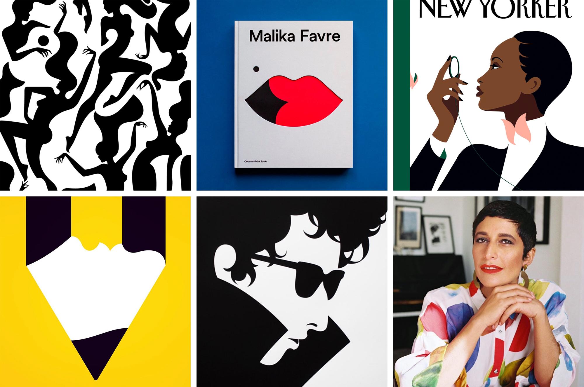 Malika Favre Sample Illustrations