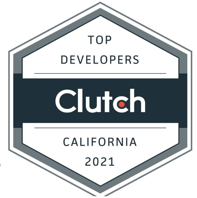top developers clutch award